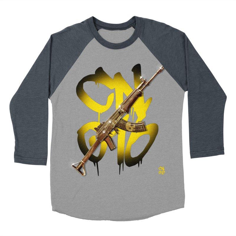 CasaNorte - Rynkky Men's Baseball Triblend Longsleeve T-Shirt by Casa Norte's Artist Shop