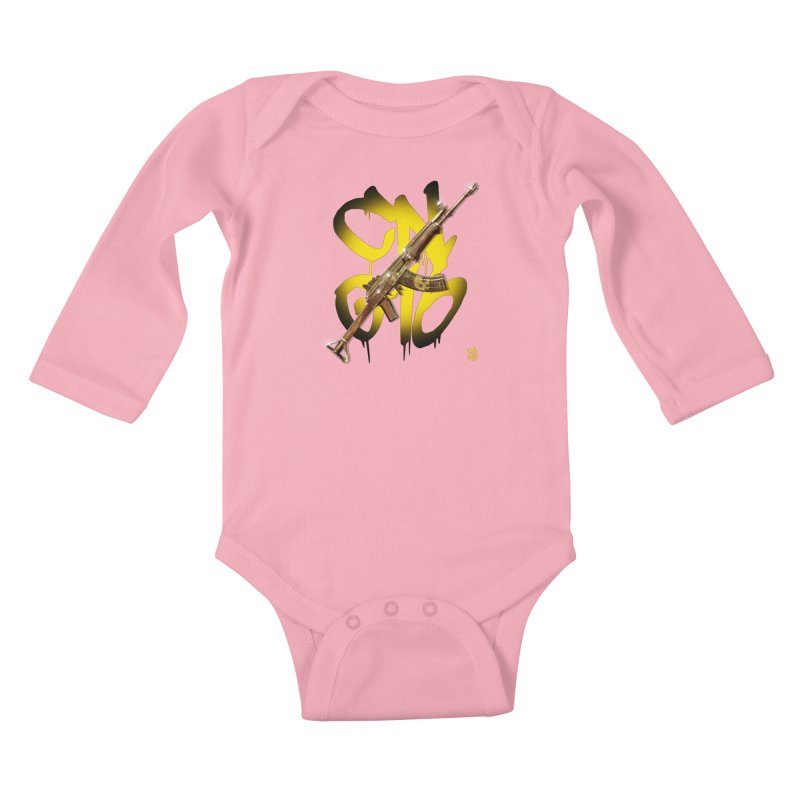 CasaNorte - Rynkky Kids Baby Longsleeve Bodysuit by Casa Norte's Artist Shop