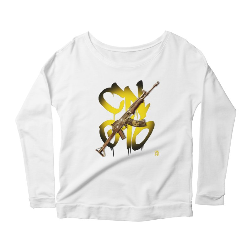 CasaNorte - Rynkky Women's Scoop Neck Longsleeve T-Shirt by Casa Norte's Artist Shop