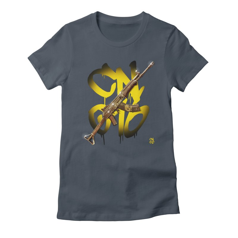 CasaNorte - Rynkky Women's Fitted T-Shirt by Casa Norte's Artist Shop