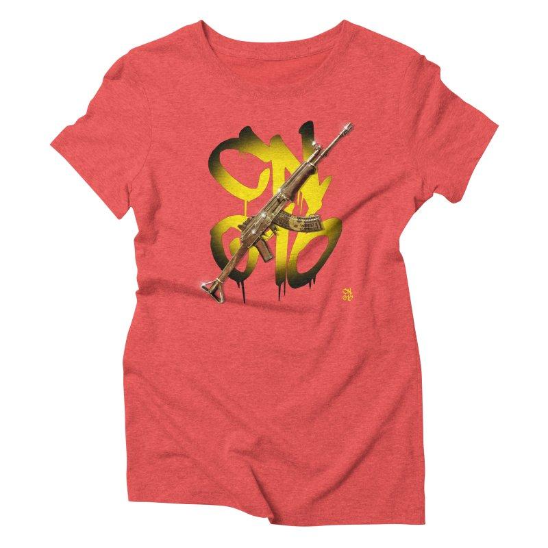 CasaNorte - Rynkky Women's Triblend T-Shirt by Casa Norte's Artist Shop