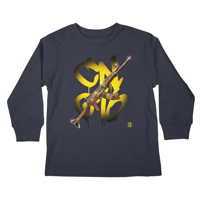 CasaNorte - Rynkky Kids Longsleeve T-Shirt by Casa Norte's Artist Shop