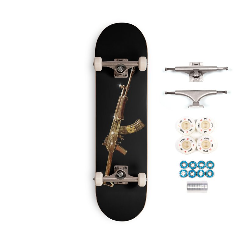 CasaNorte - Rynkky Accessories Complete - Premium Skateboard by Casa Norte's Artist Shop