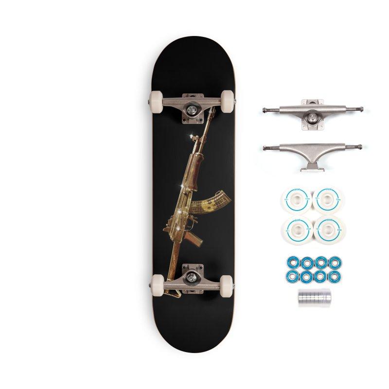 CasaNorte - Rynkky Accessories Complete - Basic Skateboard by Casa Norte's Artist Shop