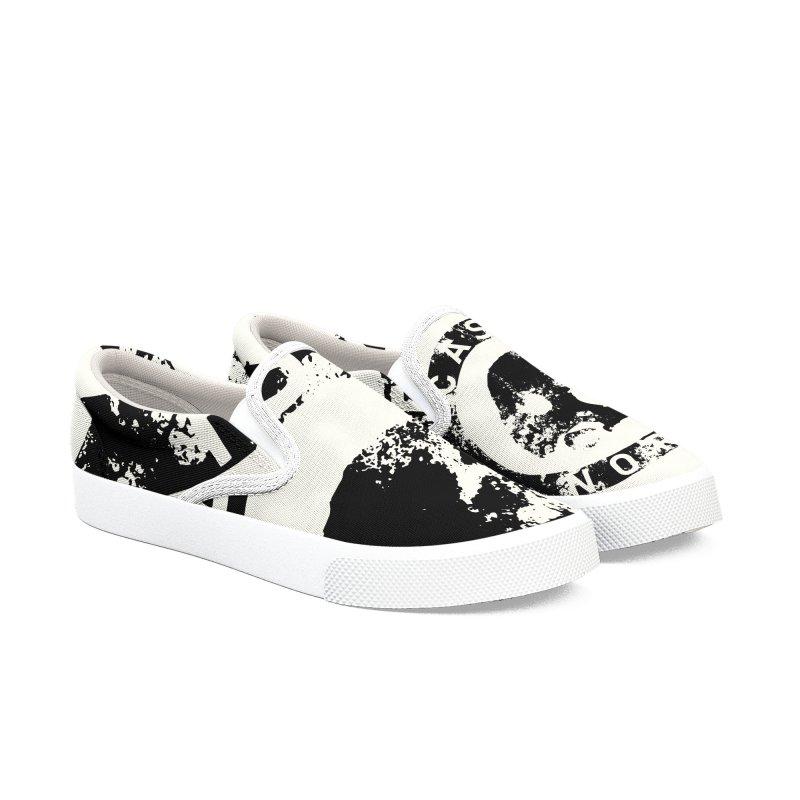 CasaNorte- CNring Men's Slip-On Shoes by Casa Norte's Artist Shop