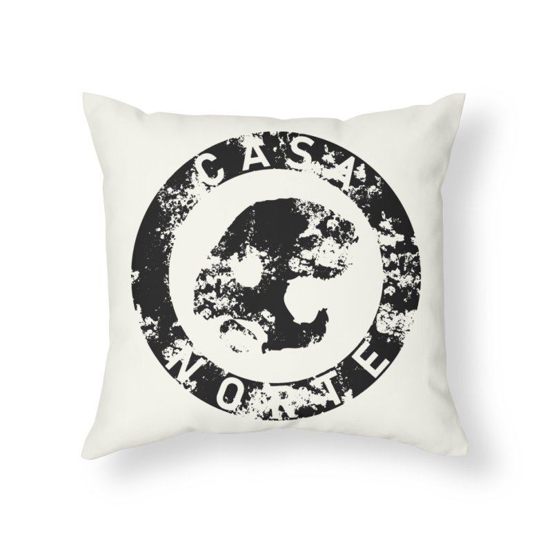 CasaNorte- CNring Home Throw Pillow by Casa Norte's Artist Shop