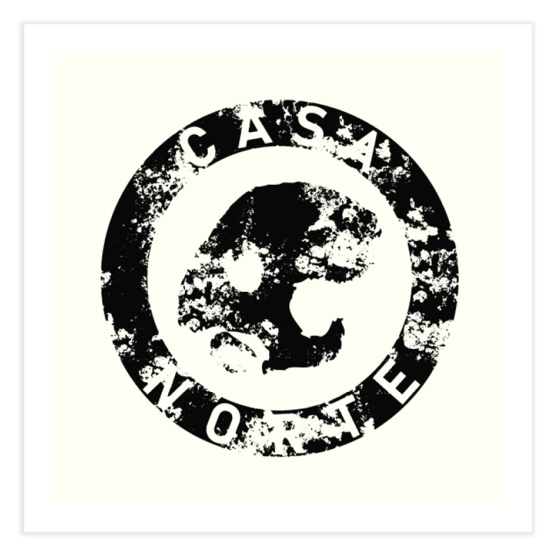 CasaNorte- CNring Home Fine Art Print by Casa Norte's Artist Shop