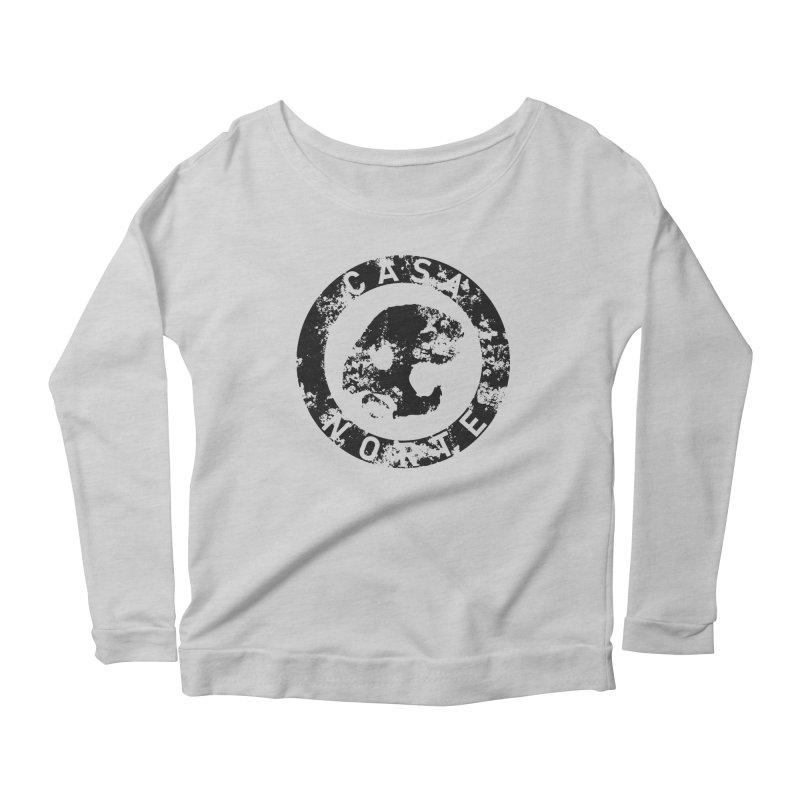 CasaNorte- CNring Women's Scoop Neck Longsleeve T-Shirt by Casa Norte's Artist Shop