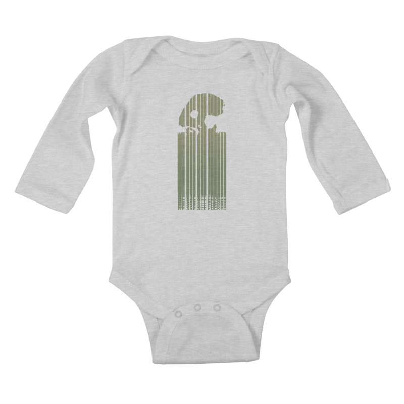 CasaNorte - CodeL Kids Baby Longsleeve Bodysuit by Casa Norte's Artist Shop
