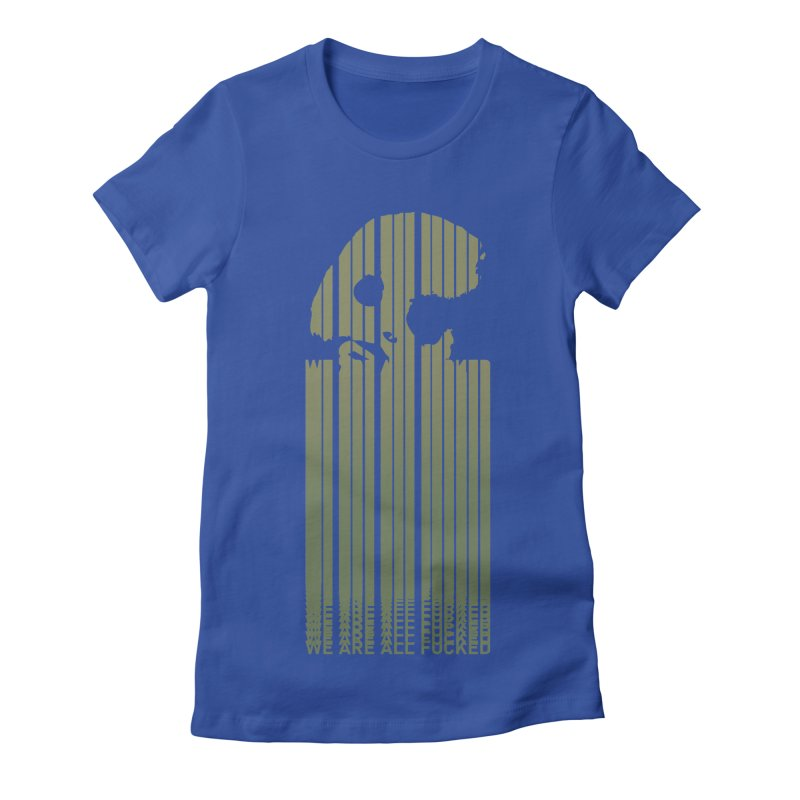 CasaNorte - CodeL Women's Fitted T-Shirt by Casa Norte's Artist Shop