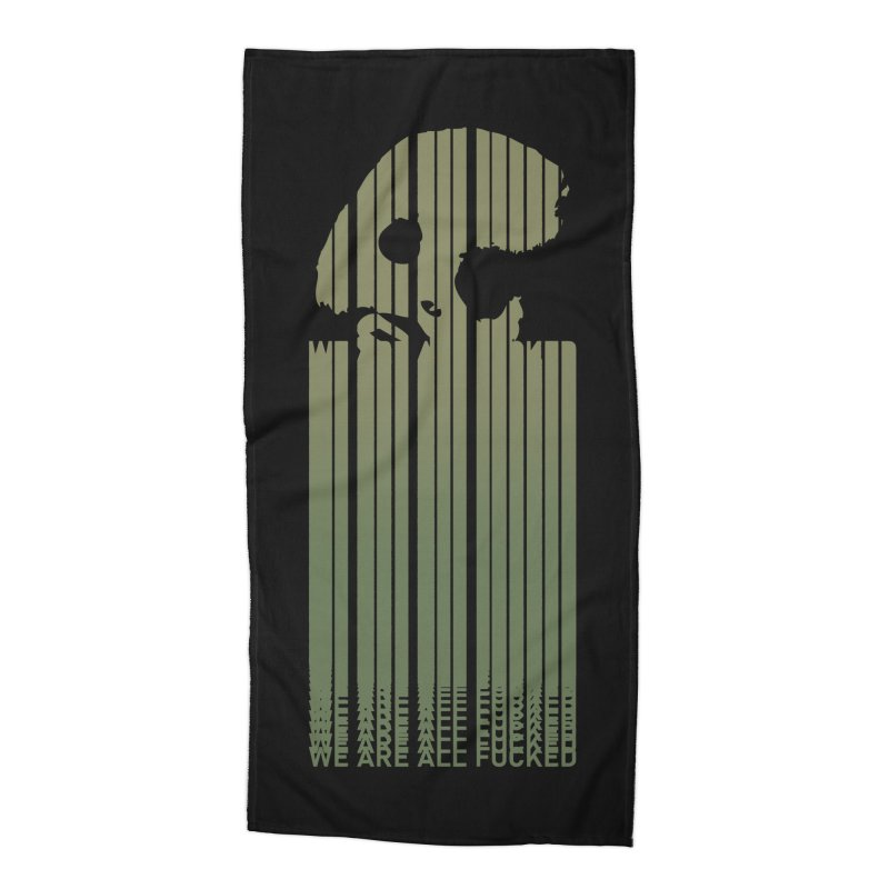 CasaNorte - CodeL Accessories Beach Towel by Casa Norte's Artist Shop