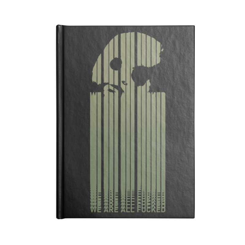 CasaNorte - CodeL Accessories Blank Journal Notebook by Casa Norte's Artist Shop