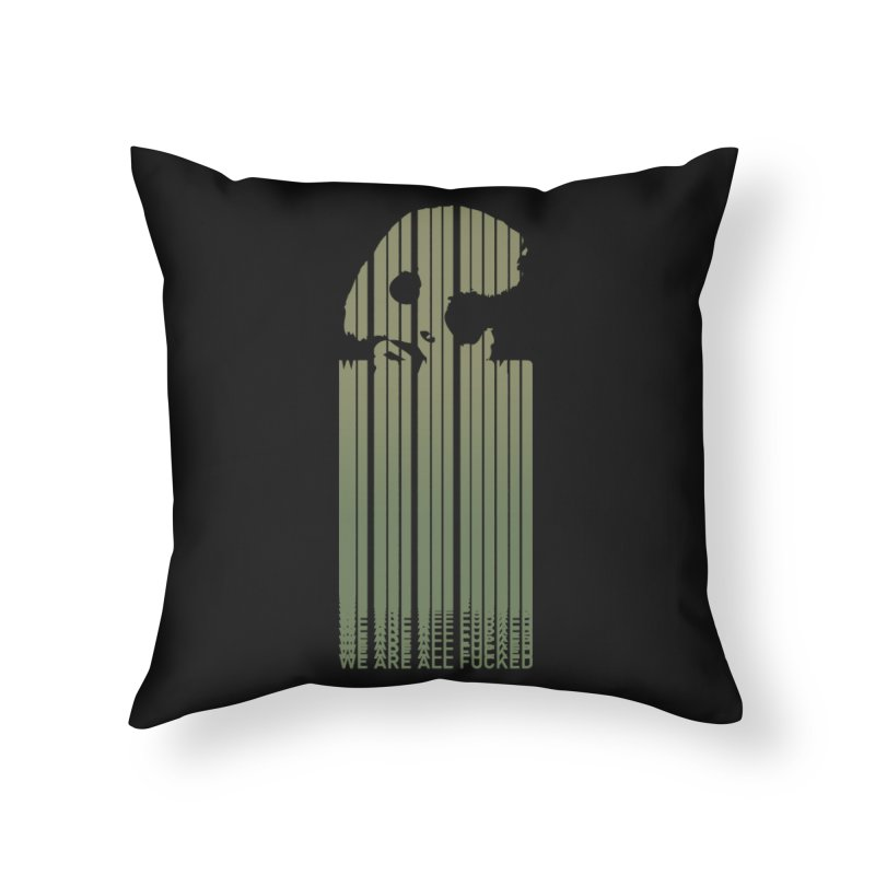 CasaNorte - CodeL Home Throw Pillow by Casa Norte's Artist Shop