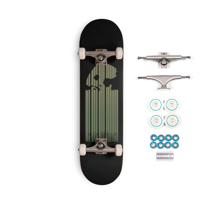 CasaNorte - CodeL Accessories Complete - Basic Skateboard by Casa Norte's Artist Shop