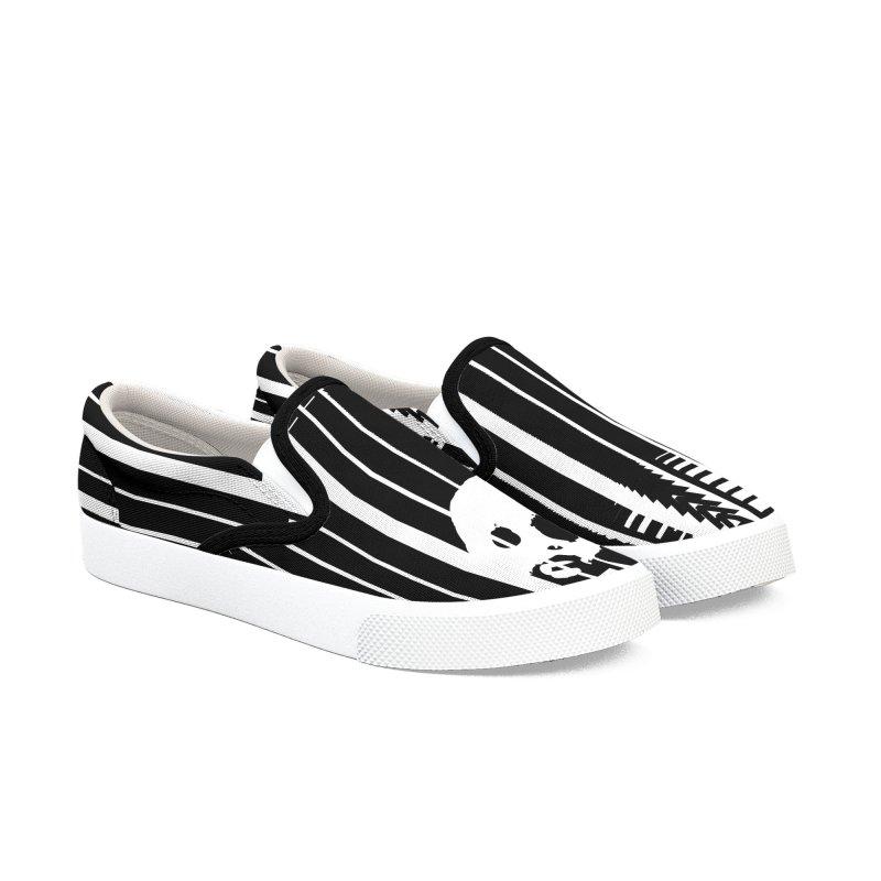 CasaNorte - CodeS Men's Slip-On Shoes by Casa Norte's Artist Shop