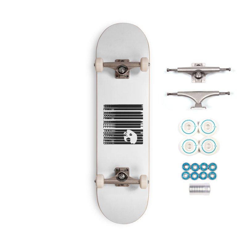 CasaNorte - CodeS Accessories Complete - Basic Skateboard by Casa Norte's Artist Shop