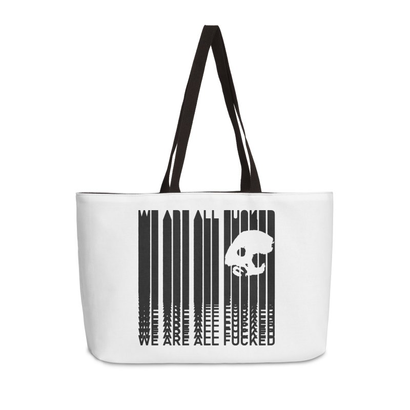 CasaNorte - CodeS Accessories Weekender Bag Bag by Casa Norte's Artist Shop