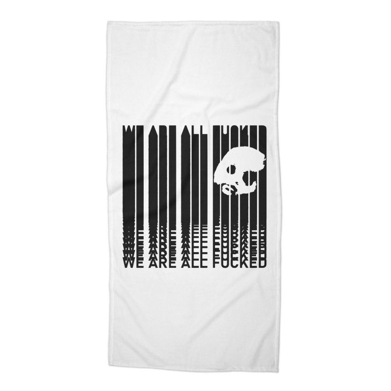 CasaNorte - CodeS Accessories Beach Towel by Casa Norte's Artist Shop