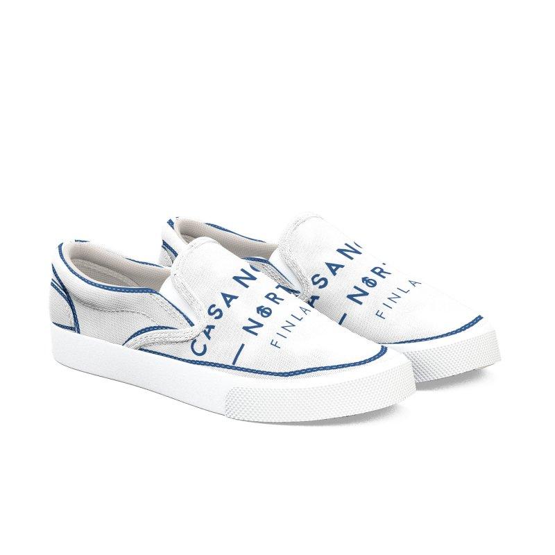 CasaNorte - FinCasa Men's Slip-On Shoes by Casa Norte's Artist Shop