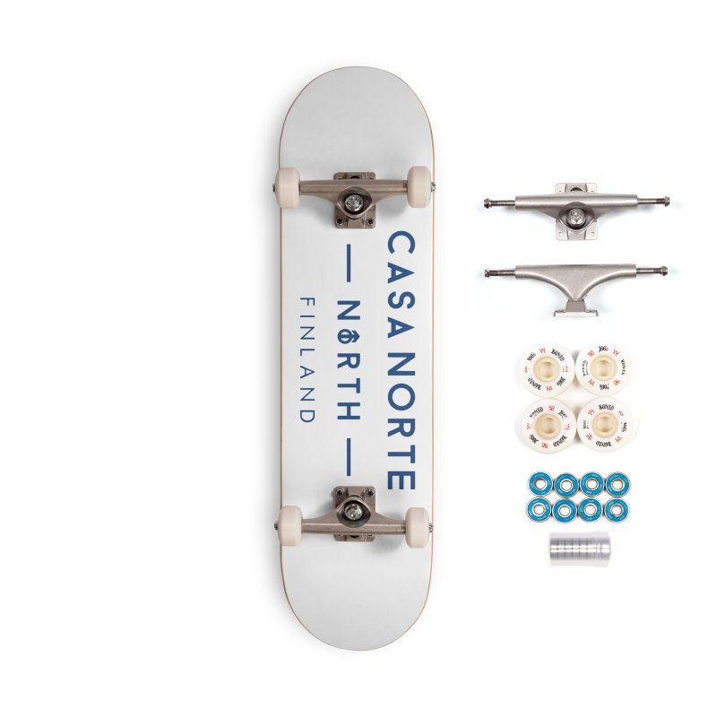 CasaNorte - FinCasa Accessories Complete - Premium Skateboard by Casa Norte's Artist Shop