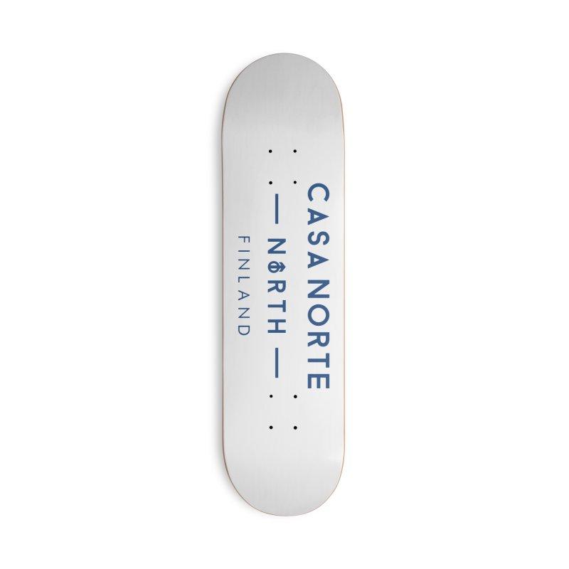 CasaNorte - FinCasa Accessories Deck Only Skateboard by Casa Norte's Artist Shop