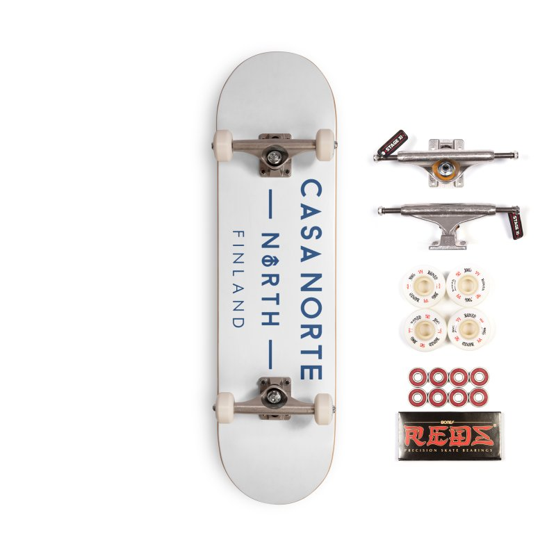 CasaNorte - FinCasa Accessories Complete - Pro Skateboard by Casa Norte's Artist Shop