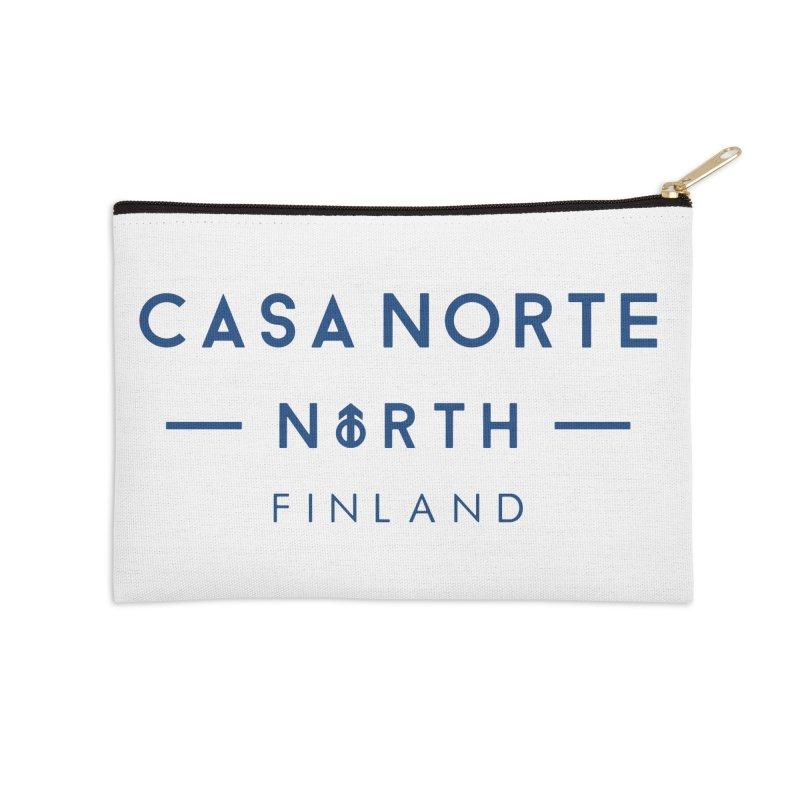 CasaNorte - FinCasa Accessories Zip Pouch by Casa Norte's Artist Shop
