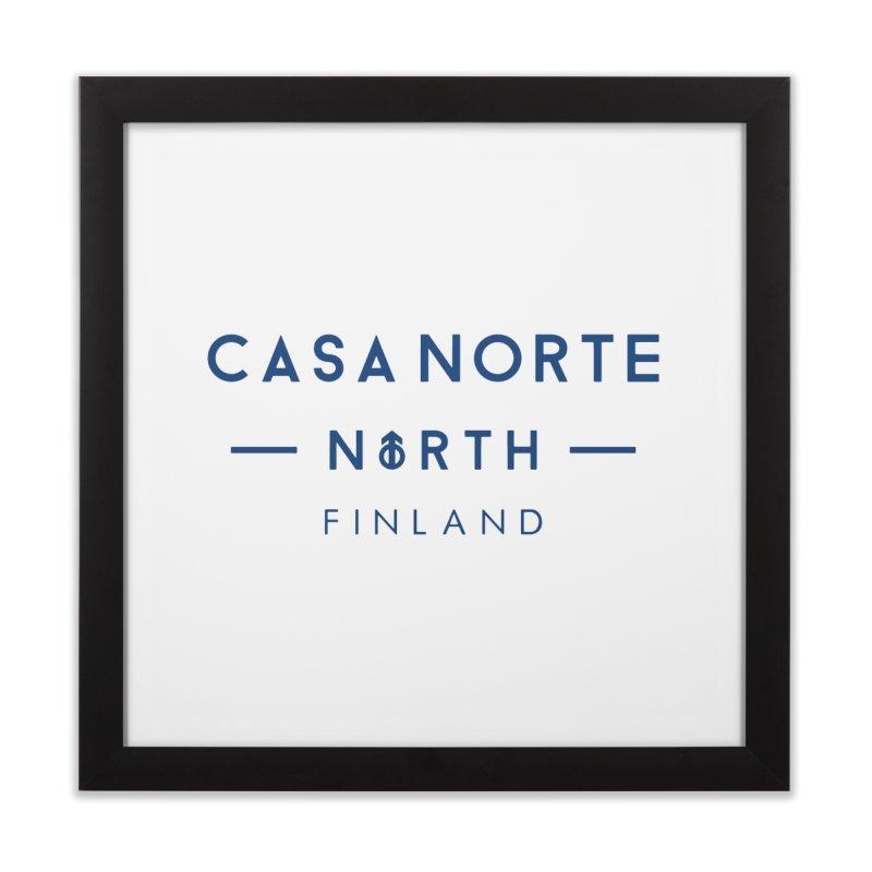 CasaNorte - FinCasa Home Framed Fine Art Print by Casa Norte's Artist Shop