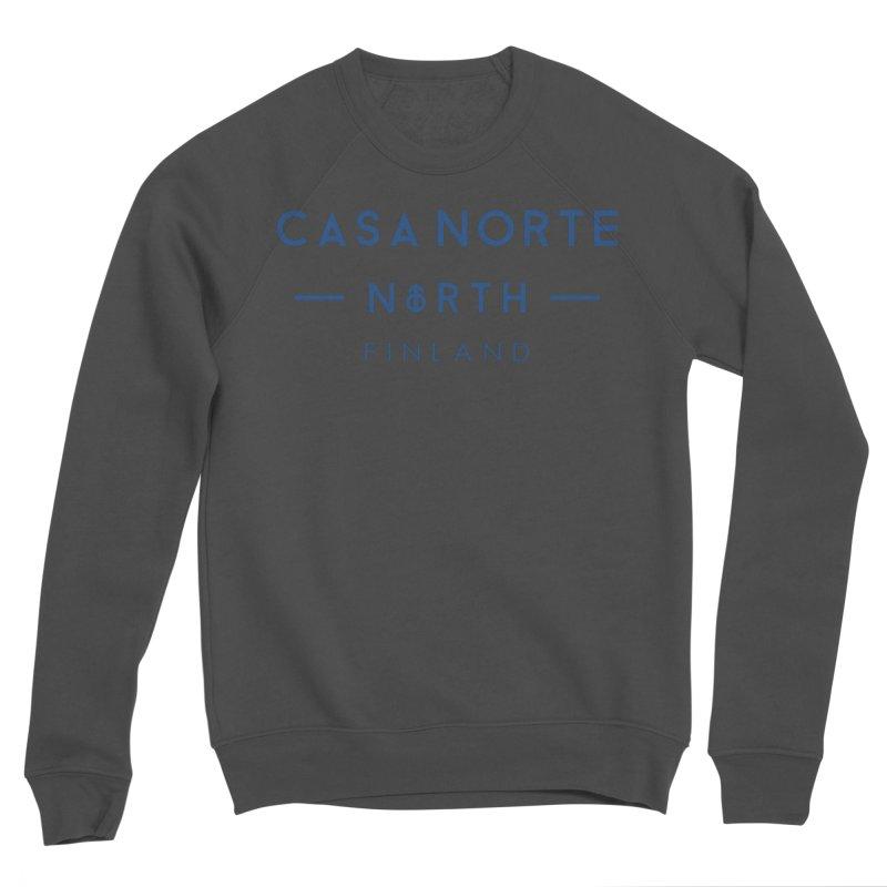 CasaNorte - FinCasa Men's Sponge Fleece Sweatshirt by Casa Norte's Artist Shop