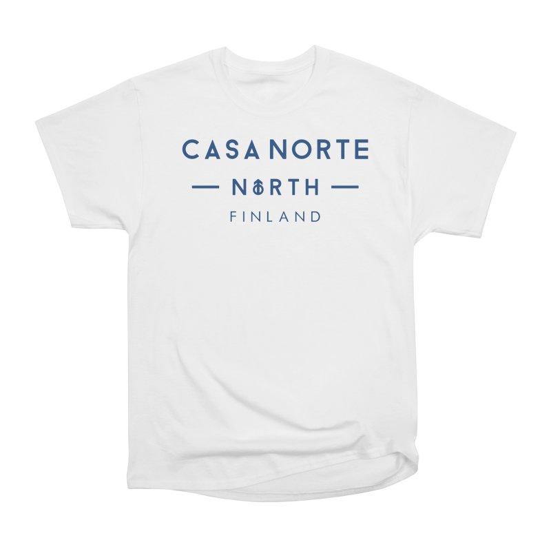 CasaNorte - FinCasa Women's Heavyweight Unisex T-Shirt by Casa Norte's Artist Shop