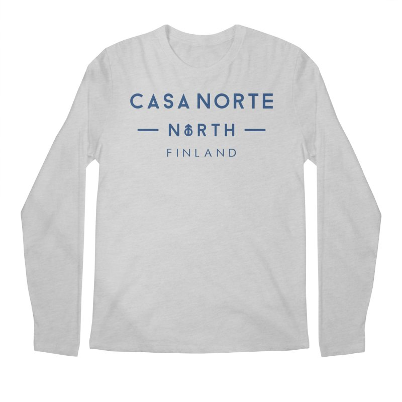 CasaNorte - FinCasa Men's Regular Longsleeve T-Shirt by Casa Norte's Artist Shop