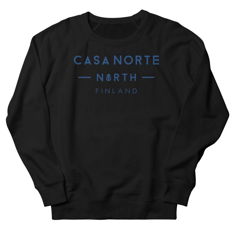 CasaNorte - FinCasa Women's French Terry Sweatshirt by Casa Norte's Artist Shop