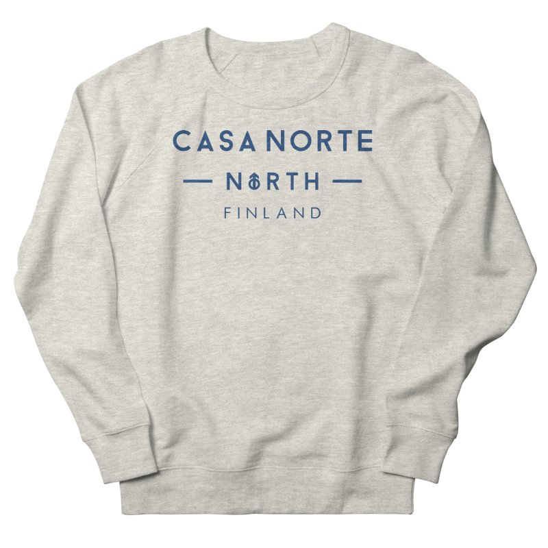 CasaNorte - FinCasa Men's French Terry Sweatshirt by Casa Norte's Artist Shop
