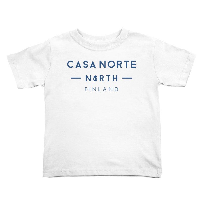 CasaNorte - FinCasa Kids Toddler T-Shirt by Casa Norte's Artist Shop