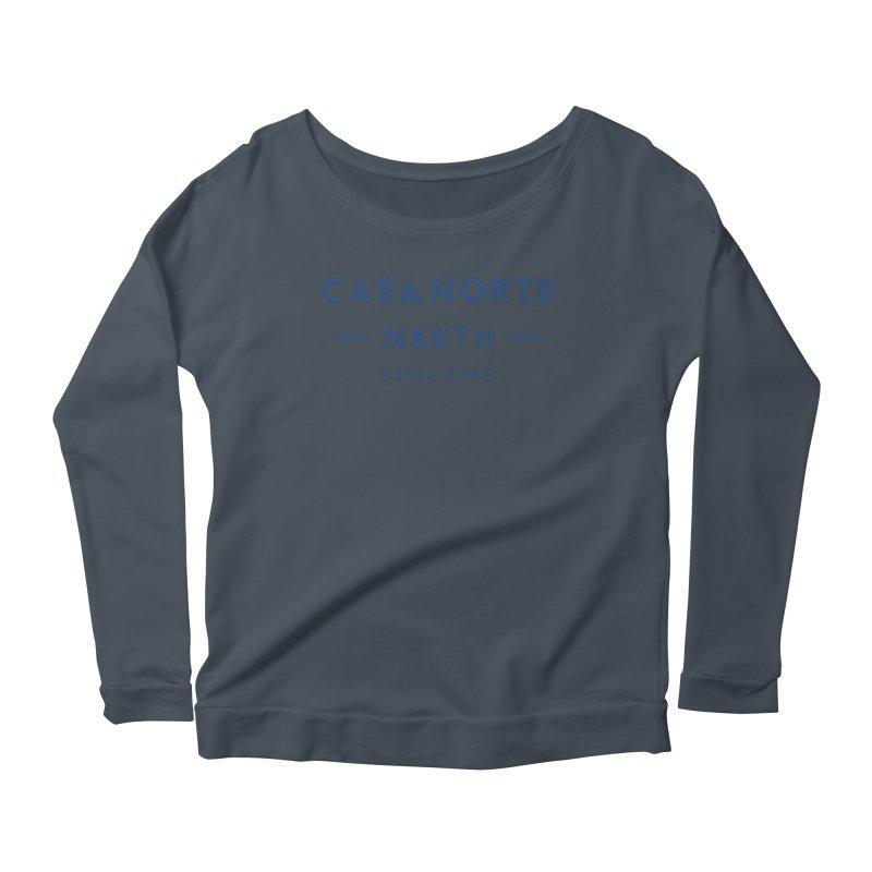 CasaNorte - FinCasa Women's Scoop Neck Longsleeve T-Shirt by Casa Norte's Artist Shop
