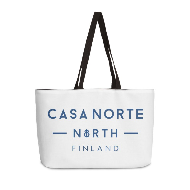 CasaNorte - FinCasa Accessories Weekender Bag Bag by Casa Norte's Artist Shop