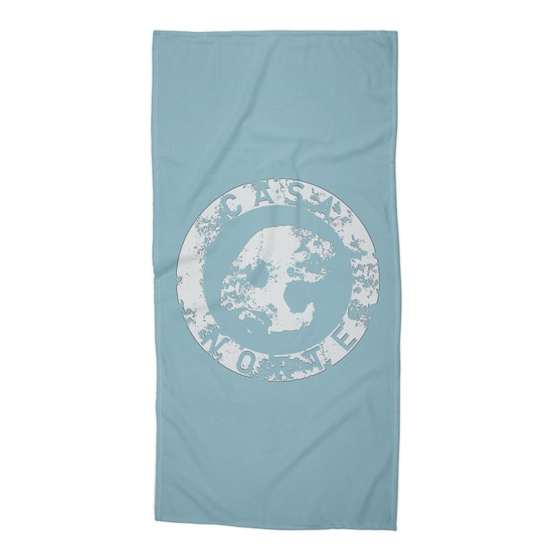 CasaNorte - CNRingW Accessories Beach Towel by Casa Norte's Artist Shop