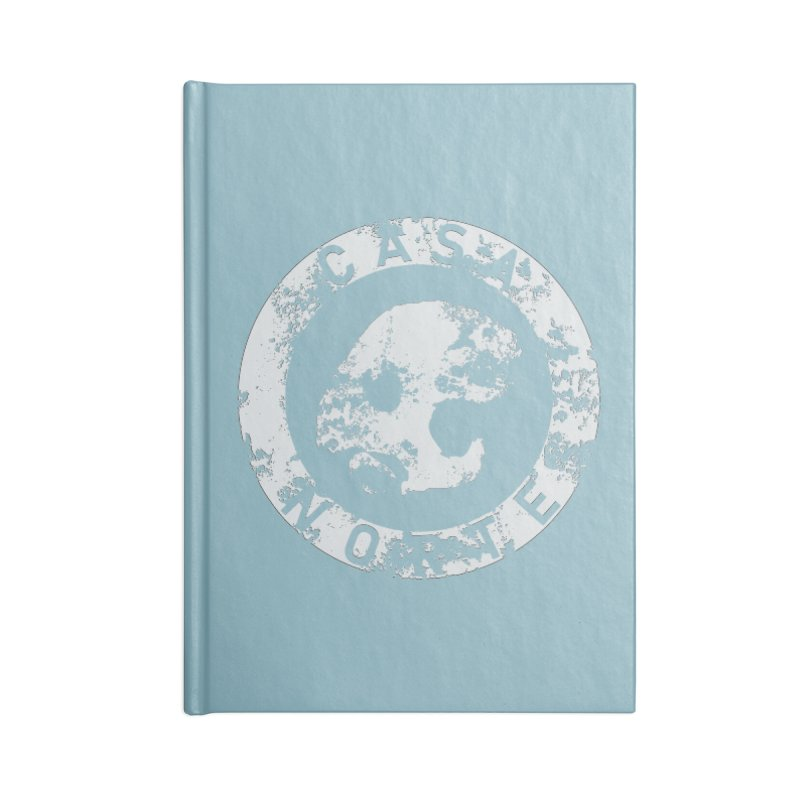 CasaNorte - CNRingW Accessories Blank Journal Notebook by Casa Norte's Artist Shop