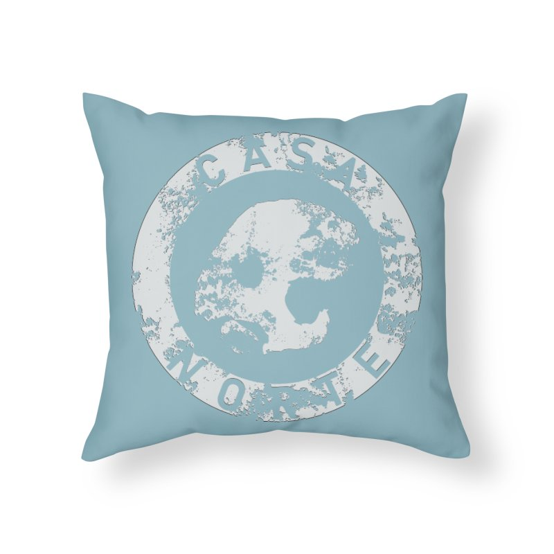 CasaNorte - CNRingW Home Throw Pillow by Casa Norte's Artist Shop