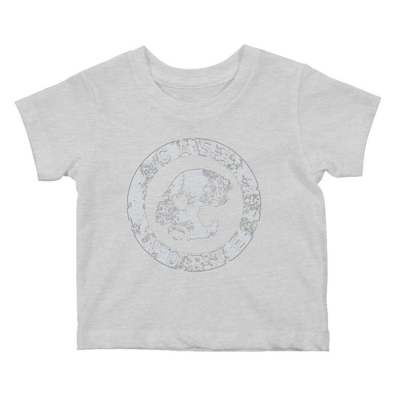 CasaNorte - CNRingW Kids Baby T-Shirt by Casa Norte's Artist Shop