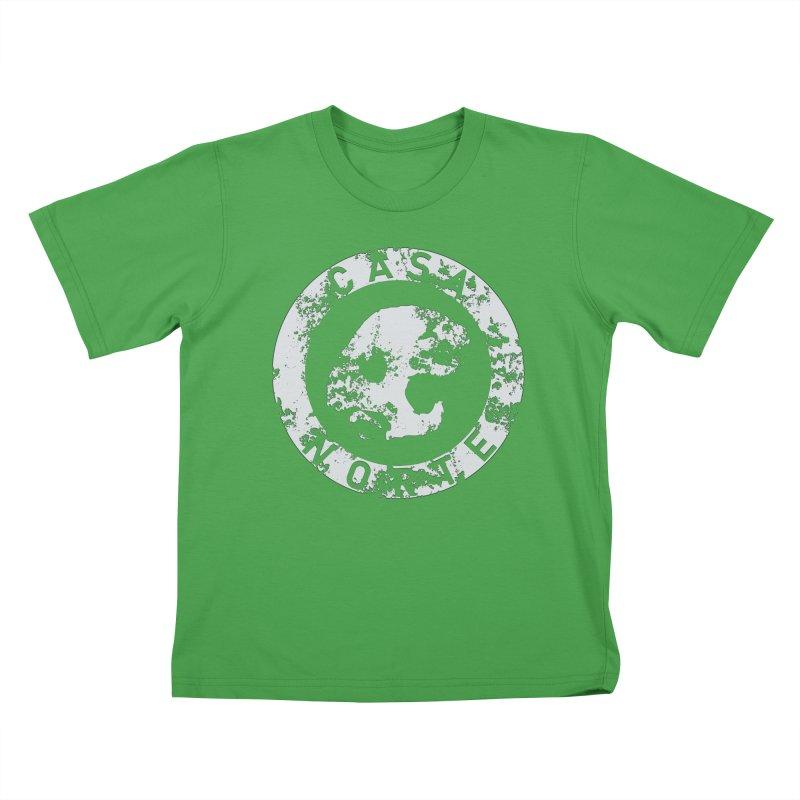 CasaNorte - CNRingW Kids T-Shirt by Casa Norte's Artist Shop