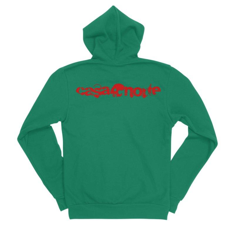 CasaNorte - CasaNorte1R Women's Sponge Fleece Zip-Up Hoody by Casa Norte's Artist Shop
