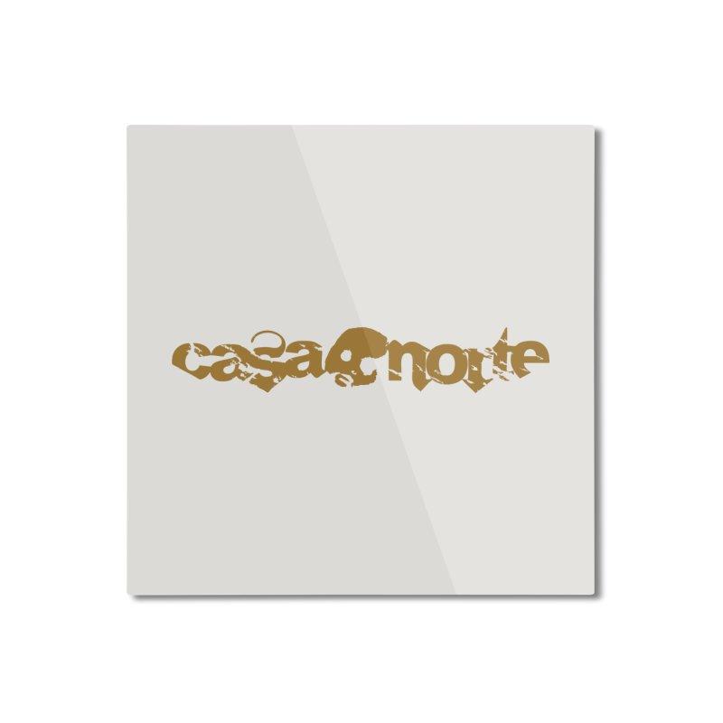 CasaNorte - CasaNorte1C Home Mounted Aluminum Print by Casa Norte's Artist Shop