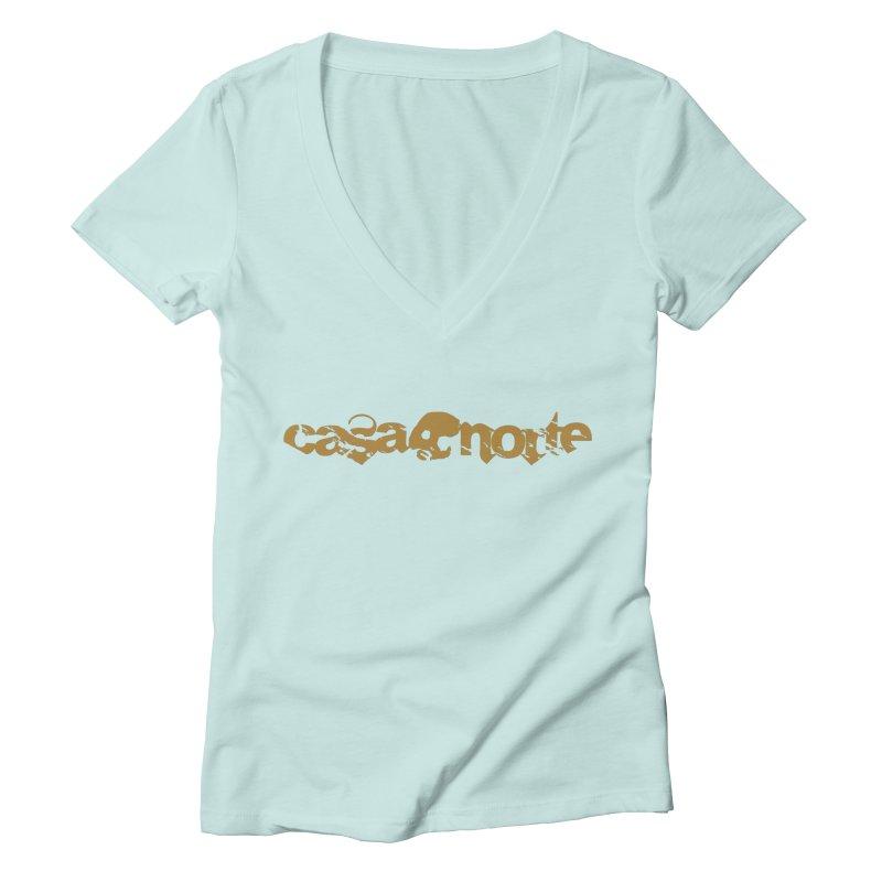 CasaNorte - CasaNorte1C Women's Deep V-Neck V-Neck by Casa Norte's Artist Shop