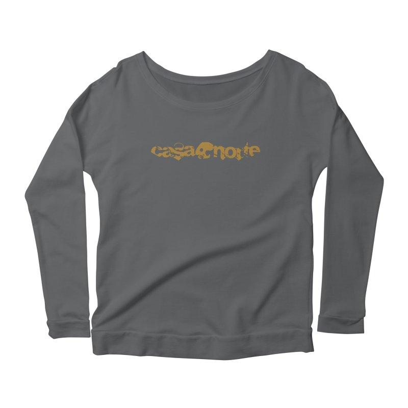 CasaNorte - CasaNorte1C Women's Scoop Neck Longsleeve T-Shirt by Casa Norte's Artist Shop