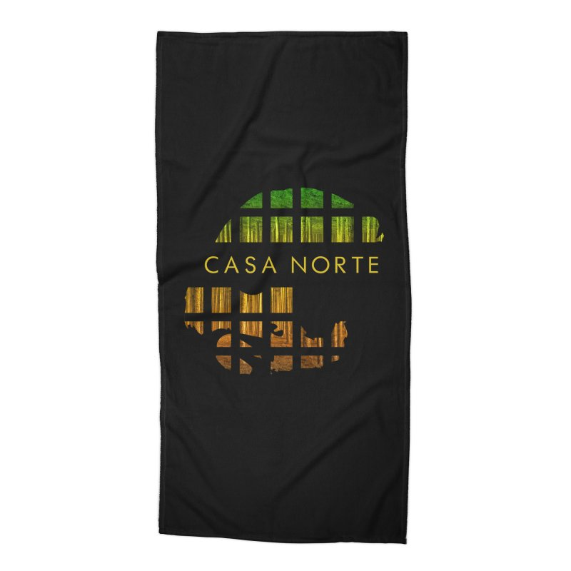 CasaNorte- Oil Accessories Beach Towel by Casa Norte's Artist Shop