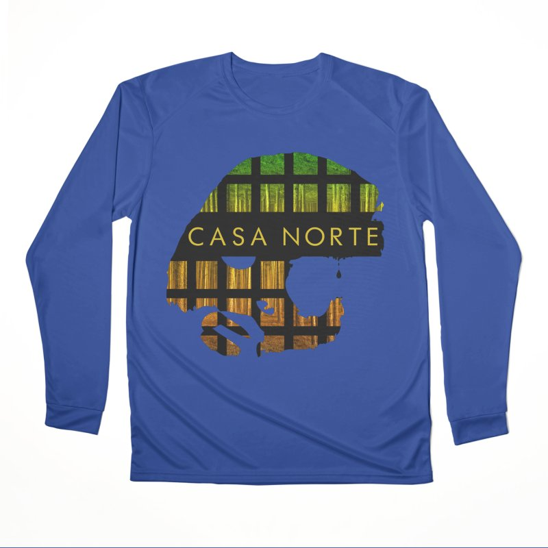 CasaNorte- Oil Men's Performance Longsleeve T-Shirt by Casa Norte's Artist Shop