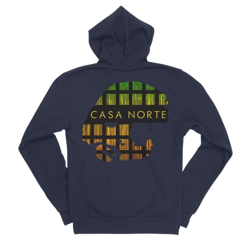 CasaNorte- Oil Women's Sponge Fleece Zip-Up Hoody by Casa Norte's Artist Shop