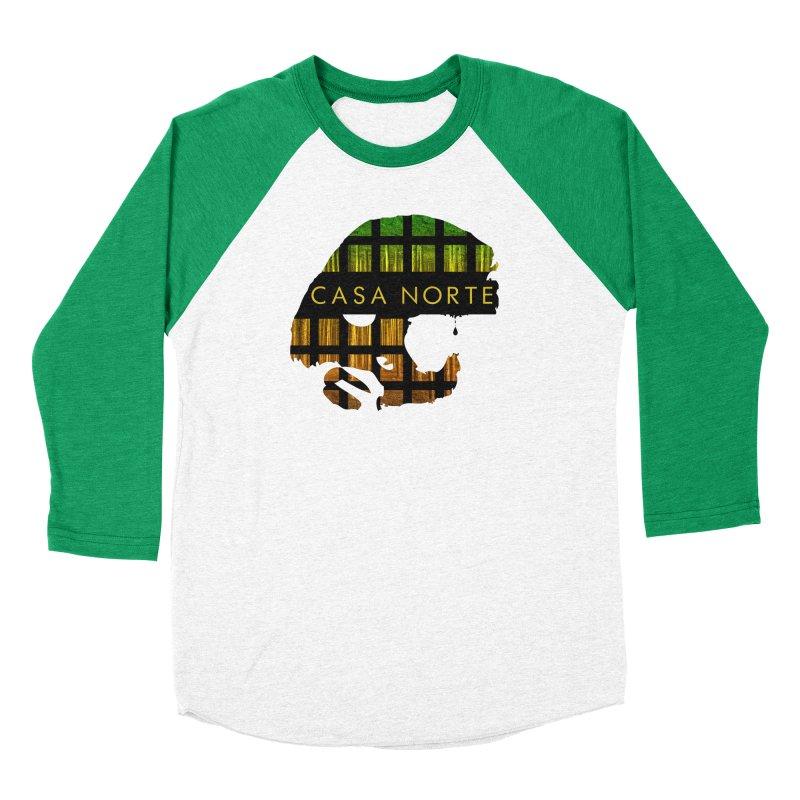 CasaNorte- Oil Men's Baseball Triblend Longsleeve T-Shirt by Casa Norte's Artist Shop