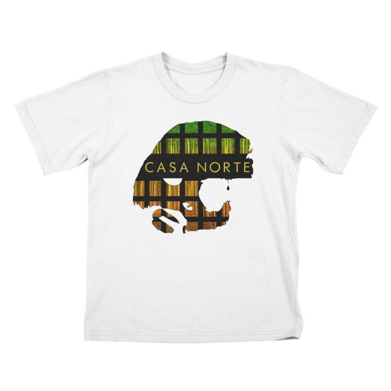 CasaNorte- Oil Kids T-Shirt by Casa Norte's Artist Shop